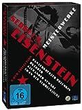 Sergej M. Eisenstein ( Panzerkreuzer Potemkin / Oktober / Alexander Newski / Iwan der Schreckliche Teil 1 + 2) [5 DVDs]