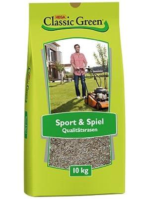 Classic Green Sport- & Spielrasen 10kg von Rasen Classic Green bei Du und dein Garten