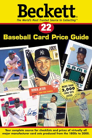 Beckett Baseball Card Price Guide: 22 (Beckett Baseball Card Price Guide, No 22)