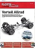 Flotte & Wirtschaft (AT) 10-11 2017 Vorteil Allrad Zeitschrift Magazin Einzelheft Heft Fuhrparkmanagement