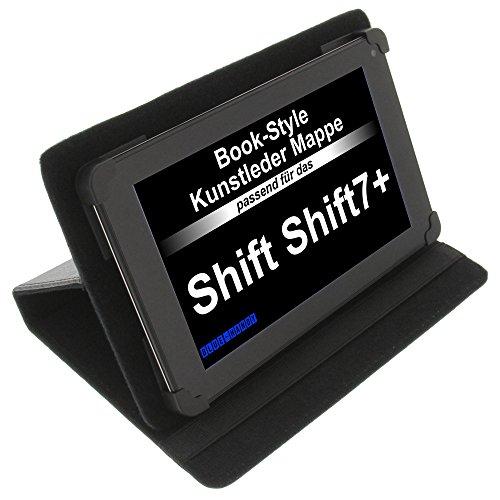 foto-kontor Tasche für Shift Shift7+ BookStyle Schutz Hülle Schwarz