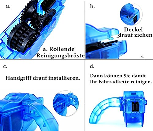 Der&Dies Fahrrad Kettenreinigungsgerät - 3