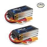 Best Batterie barca - ZEEE 2 Pack 11.1V 30C 1500mAh 3S LiPo Review