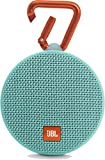 JBL Clip 2 Portable Wireless Bluetooth Speaker with Mic (Teal)