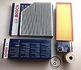 Bosch Ölfilter Luftfilter Aktivkohlefilter A4 B8 A5 8T Q5 8R 2.0 TDI - Motorcode CJCB , CJCA , CMFA , CJCC , CGLD , CNHC