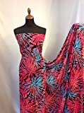 Iana Fabrics Chiffon Print Stoff 157cm 154,9cm Kleid