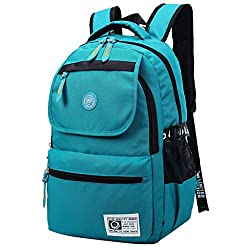 Super Modern Unisex Nylon School Bag Waterproof Hiking Backpack Cool Sports Backpack Laptop Bag