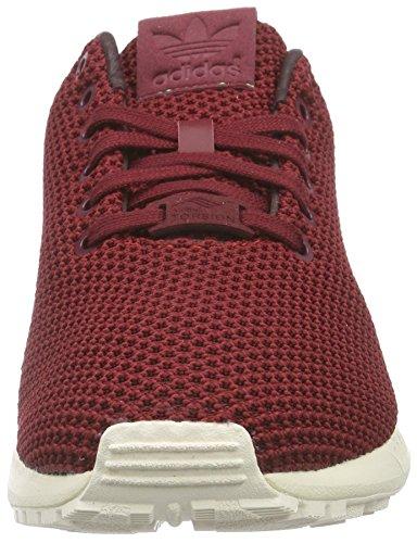 adidas Originals Unisex-Erwachsene Zx Flux Low-Top Rot (Collegiate Burgundy/Night Red/Chalk White)