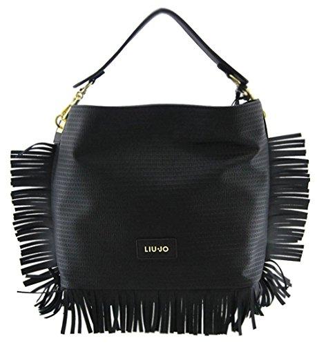 Liu Jo MEDITERRANEO Hobo Bag Sac á main de la femme black (noir) N16116E0001-22222