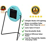 i-SOLARLITE FIZI LED Wall Mountable Solar Emergency Light (Sky Blue)