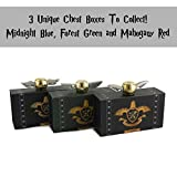 Tornado Golden Orb Fidget Spinner v3 - Exclusive Chest Box Design