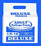 #4: Deluxe Adult Diapers Pullups Pants Large - Xl 80-120Cms / 31