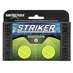 KontrolFreek Striker für Xbox One Controller | Performance Thumbsticks | 2 x Kurz | Grün