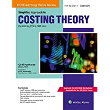 Simplified Approach to Costing Theory (For CA IPCC) (Old and New Syllabus)