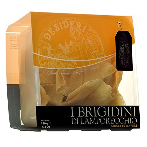 600 GR BRIGIDINI DI LAMPORECCHIO ALL' ANICE - WAFER - CONFEZIONE SALVAFRESCHEZZA ANISETTE WAFER