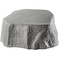 GreenLife Unterstand Regenspeicher, granitgrau, 77 x 77 x 30 cm, G0001616