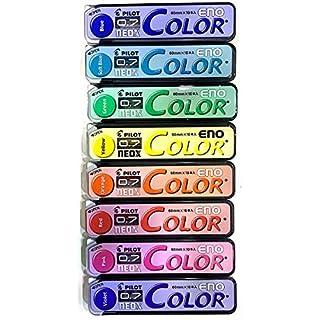 Pilot Color Eno Mechanical Pencil Lead - 0.7Mm - 8 Color Set