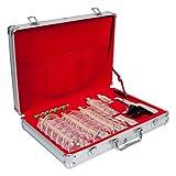 Schröpfglas-Set Exklusiv mit Vakuumpumpe, 36-tlg. inkl. Koffer für Vakuum-Massage / Schröpfen / - Schröpfgläser, Saugball