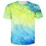Leapparel Unisex Grafik Gedruckt Hip Hop Jogger T-Shirts T Shirts Kleidung XL