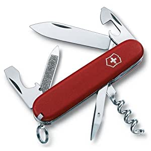 DELETE - Couteau Suisse Victorinox Sportsman 2.3803 Rouge - 13 fonctions