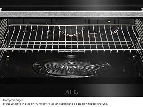 AEG BS8304101M ProCombi Multi-Dampfgarer / Dampf-Backofen / Einbau / 70 Liter / Edelstahl / mit 24 Backofenfunktionen - 6