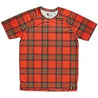 Camiseta Escocia Niño, Niña, Manga Corta, Running, Gimnasio #ScottishRed Talla 8