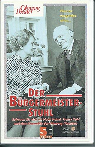 Preisvergleich Produktbild DER BÜRGERMEISTER STUHL Ohnsorg Theater