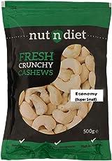 nutndiet Fresh Crunchy Cashews Economy (Super Small) (500g)