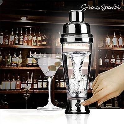 Shaker Électrique - Accessoire barmann Skaker pour coktail, café, thé , jus de fruit