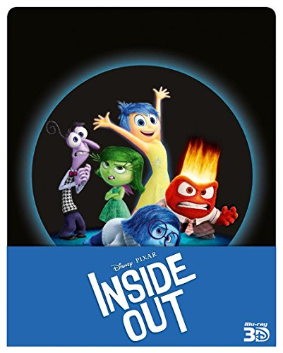 Inside Out Steelbook (Edizione Limitata) (3 Blu-Ray)