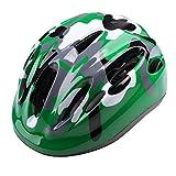 Icocopro enfants casque de vélo–Cspc Certifié pour la sécurité et confortable–Double Réglage Cycle Hlemt pour enfants garçons et filles–Couleurs vives Motif, Homme, 3AWJ-YP0708076-Olive-green, olive-green