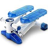 YONGMEI Geräuscharme hydraulische Mini-Heimfitnessgeräte Kostenlose Installation (Farbe : Blau)