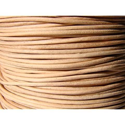 Cinturino in pelle, in pelle lenza, in pelle cinturino 10 m, circa 1,0 mm Colore.