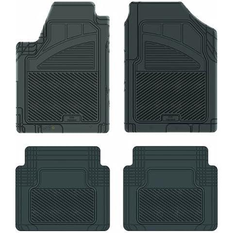 Koolatron Pants Saver Custom Fit 4 Piece All Weather Car Mat for Select Nissan Maxima Models (Black)