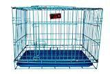 #8: SRI Imported High Quality Dog Cage For Dog With Removable Tray (30 INCH (Blue)