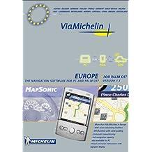 Mapsonic GPS Navigation software Europe - Palm OS