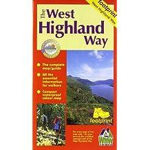 West Highland Way: Map/Guide (Footprint)