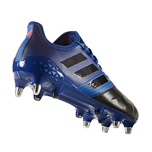 Adidas - Scarpe Da Rugby Adidas Karkari Light Sg Blue Blau (reauni / Negbas / Narres)