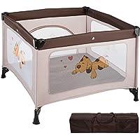 TecTake Parque para bebé cuna infantil de viaje portátil - disponible en diferentes colores - (