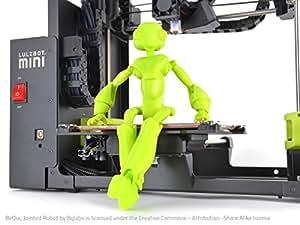 LulzBot Mini imprimante 3D - Imprimantes 3D (Noir, Vert, 150 W, 100/240 V, 340 mm, 435 mm, 385 mm)
