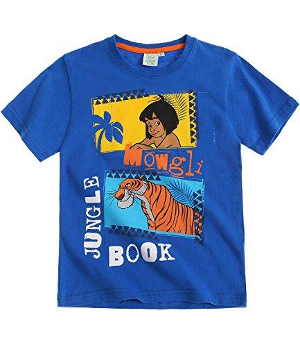 Disney The Jungle Book Boys Short Sleeve T-Shirt 2016 Collection - Blue