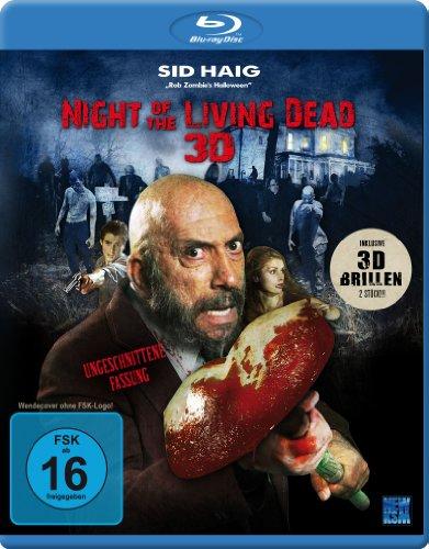 Night of the Living Dead 3D (Ungeschnittene Fassung) (inkl. 2 3D-Brillen) [3D Blu-ray] - Travis Brillen