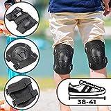 Set di Protezioni per Bambini | Taglia L - Misura Scarpa: 38-41, Fino a 50 kg |...