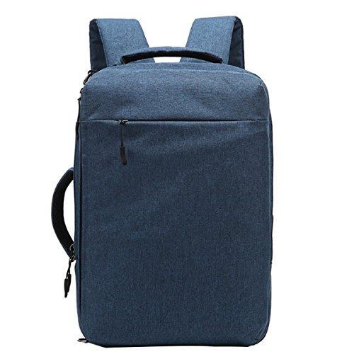 Laptop Outdoor Rucksack, Multifunktions Herren Rucksack Wasserdichte USB Cargo Computer Rucksack 15 Zoll Computer Taschen Creative Student School Bags (blau) (Cargo Rucksack-zubehör)