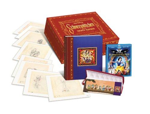 Schneewittchen & die 7 Zwerge (2 Blu-ray Discs (Film & Extras) + 1 DVD, 8 Pins, 1 Buch, Kunstdrucke) [Limited Edition]