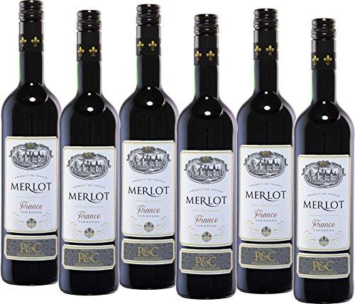 Baron Pilar Merlot Trocken 2015 (6 x 0.75 l)