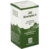 Jso Bicomplex Heilmittel Nummer 8 150 stk preisvergleich bei billige-tabletten.eu