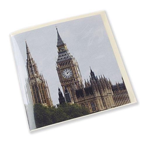 Big ben con suono di chiming. siters e sounds of london. idea regalo