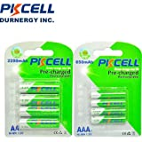 PK Cell RTU-AA2200-4B 1.2V Precharged Low Self Discharge Rechargeable AA Battery With 2200 MAh44; Pack Of 4