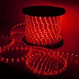 High Quality Waterproof LED Rope Light With Adapter For Decoration - 20 - Meters - RED Color (Phoenix Light)